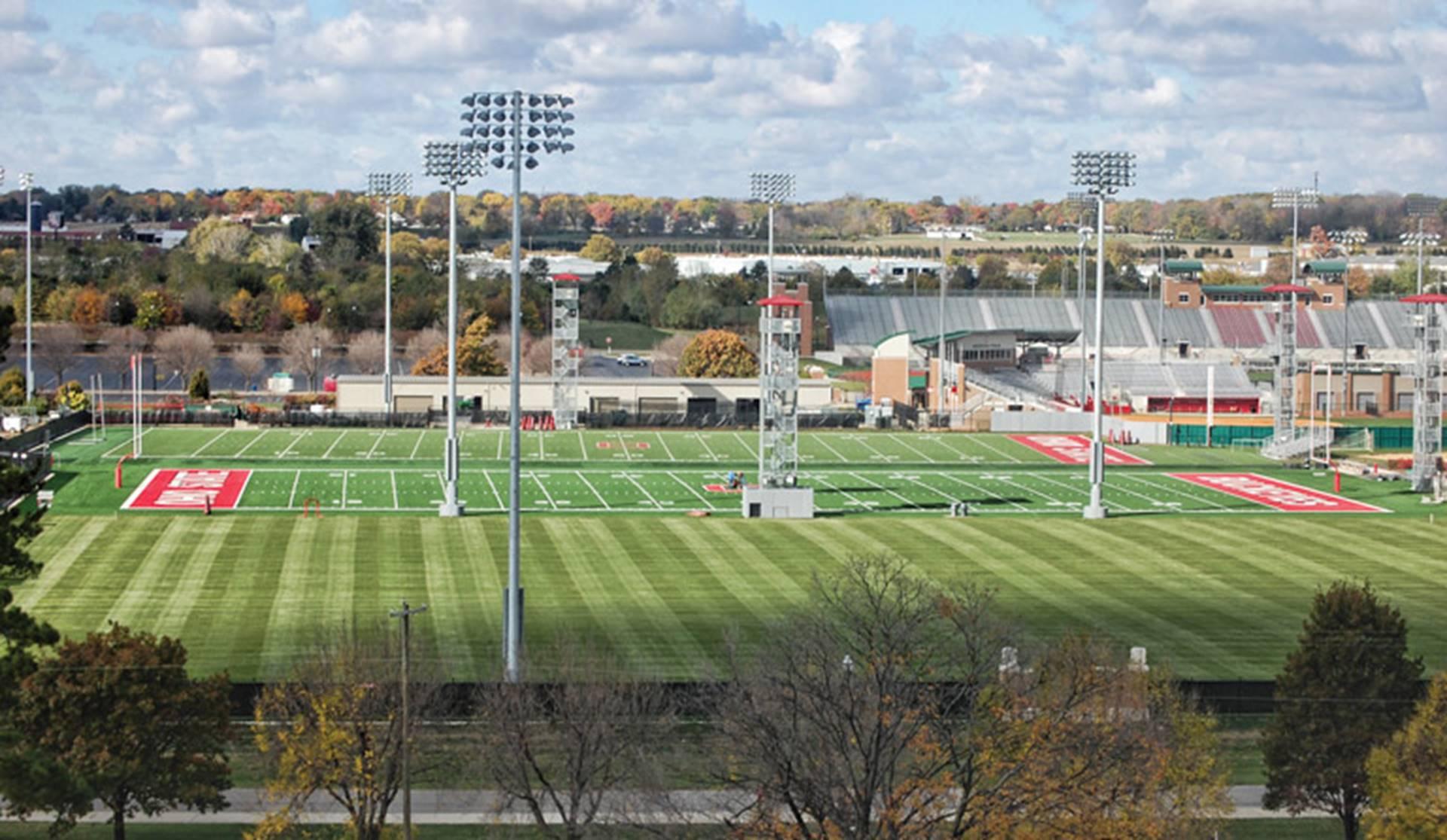 OSU Practice Fields Turf Install The Ohio State University